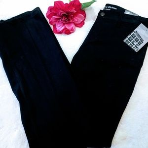 Dickies women's black pants slacks relaxed mid
